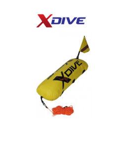 Σημαδούρα PVC Mε Kάλυμμα Nylon Κίτρινη