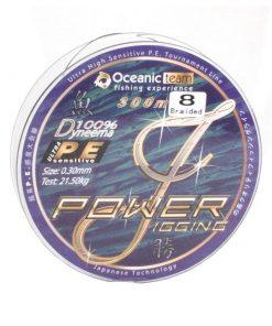 Oceanic Power Jigging Dyneema 300m 8-Braid