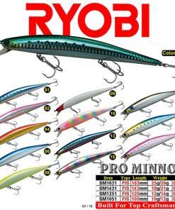 Ryobi Trappers Pro Minnow
