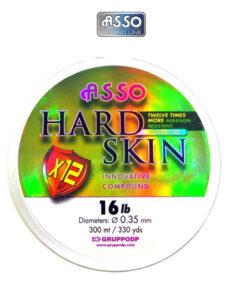 Πετονιά Asso Hard Skin 300m Σιλικόνης