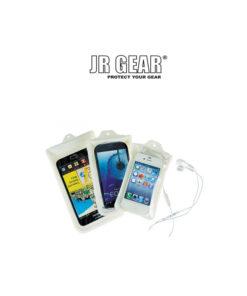 Στεγανή Θήκη iPhone 5 - Λευκή-Μαύρη