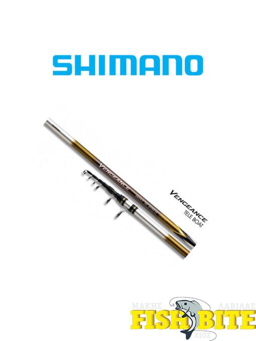 Καλάμι Shimano Vengeance Boat TE 210H