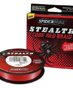 SPIDER WIRE STELTH RED 270m