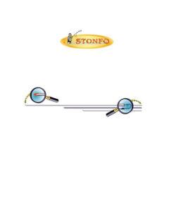 Βελόνα Δόλωσης Stonfo 223-2/12 12cm