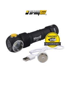 Φακός Wizard Magnet USB 1250 lumen