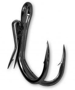 GHOST DOUBLE HOOK BLACK NICKEL N4/0