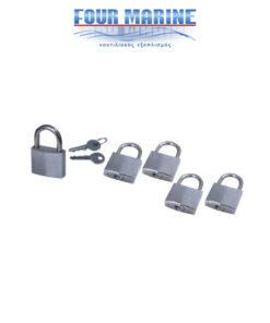 Set 5 Κλειδαριών Inox