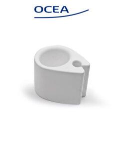 Ποτηροθήκη Λευκή Για Στήριξη Σε Σωλήνα ∅22-∅26 mm