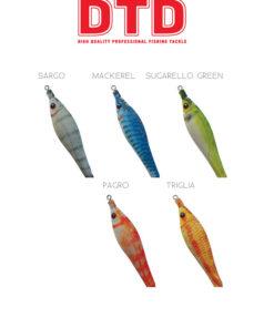 Καλαμαριέρες DTD Soft Real Fish 1.5