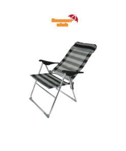 Καρέκλα Αλουμινίου Ψηλή Ανακλινόμενη