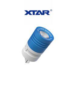 Φακός USB Mικρού Mεγέθους Mε LED 4 Xρωμάτων 120Lm